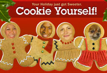 Wireframe Holiday Cookie Yourself